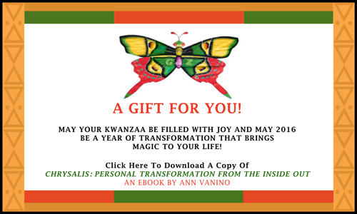 Kwanzaa Card from AnnVanino.com